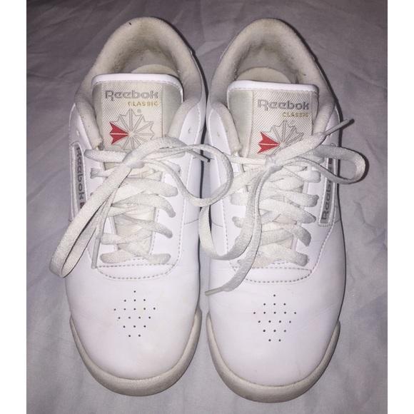 Reebok Princess Wide D White Shoes 🌿. M 5b1e02a1aa5719a51011436b e9c853fab
